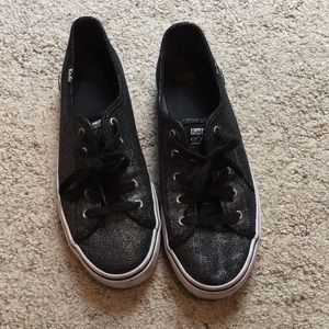 Keds, Black and silver. Worn only a few times